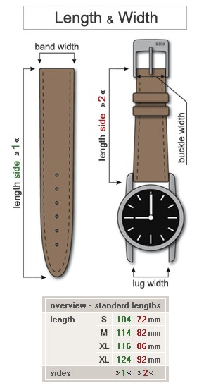 watchband24 leather watch bands straps watch band online shop